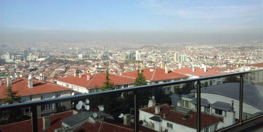 FURNISHED 2+1+TERRACE DUBLEX APARTMENT IN ÇANKAYA