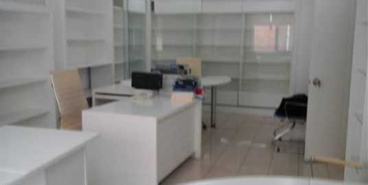 FURNISHED ENTRANCE FLOOR 4+1 OFFICE IN GAZIOSMANPAŞA