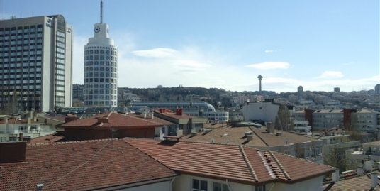 FURNISHED 2+1+OPEN ROOM APARTMENT WITH HUGE TERRACE IN KAVAKLIDERE