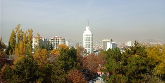 UNFURNISHED 3+1+MAID ROOM APARTMENT WITH PANORAMIC ANKARA VIEW IN GOP