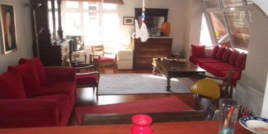 2+1+TERRACE FURNISHED APARTMENT AT VERY CENTRAL LOCATION OF GOP
