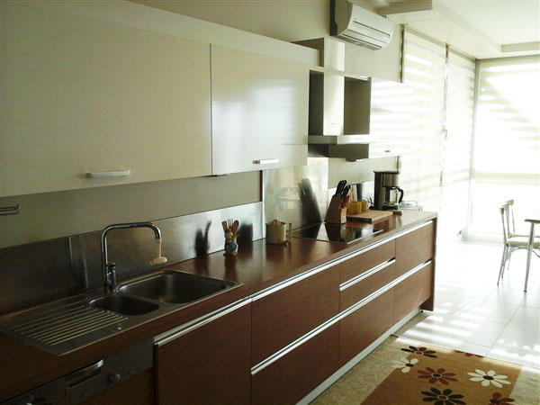 11th Floor Furnished Apartment in Park Oran, Ankara