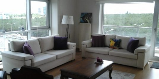 2+1 FURNISHED APARTMENT WITH PANORAMIC NATURE VIEW IN ORAN