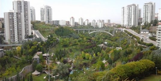 4+1 FURNISHED APARTMENT IN COMPOUND AT ÇANKAYA