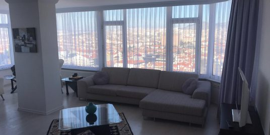 FURNISHED 2+1+LAUNDRY APARTMENT IN GOP WITH PANORAMIC CITY VIEW