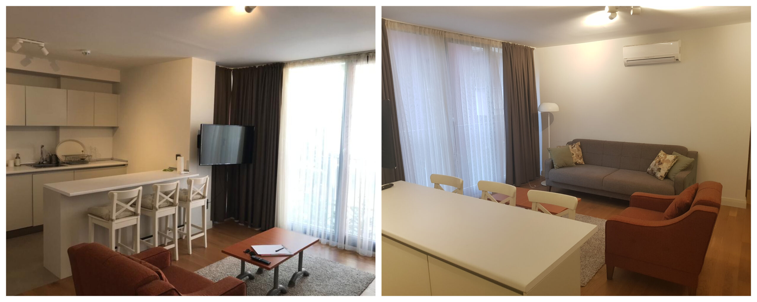 1+1 Furnished, All Expenses Included Residence in Çankaya District