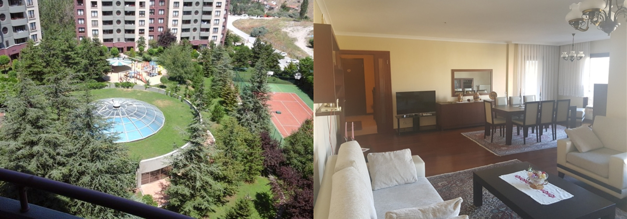 FURNISHED 4+1 APARTMENT IN MESA AKASYA COMPOUND,ORAN