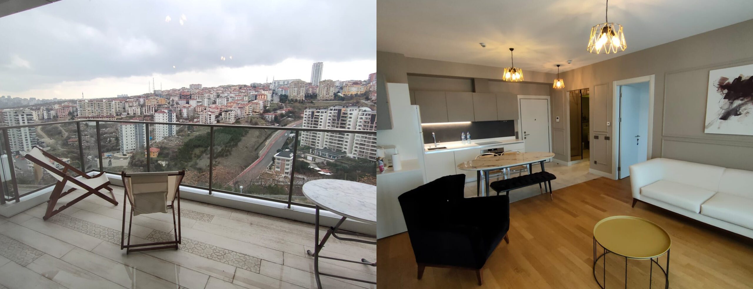 2+1 FURNISHED FLAT IN MESA 66 COMPOUND, GAZİOSMANPAŞA