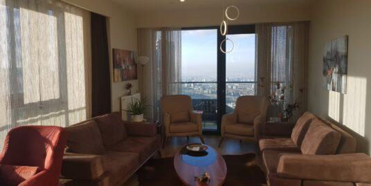 FURNISHED 2+1 HIGH RISE RESIDENCE,SECURED COMPOUND, IN YILDIZ REGION