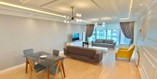 RENOVATED 4+1, FURNISHED FLAT IN PARK-ORAN COMPOUND