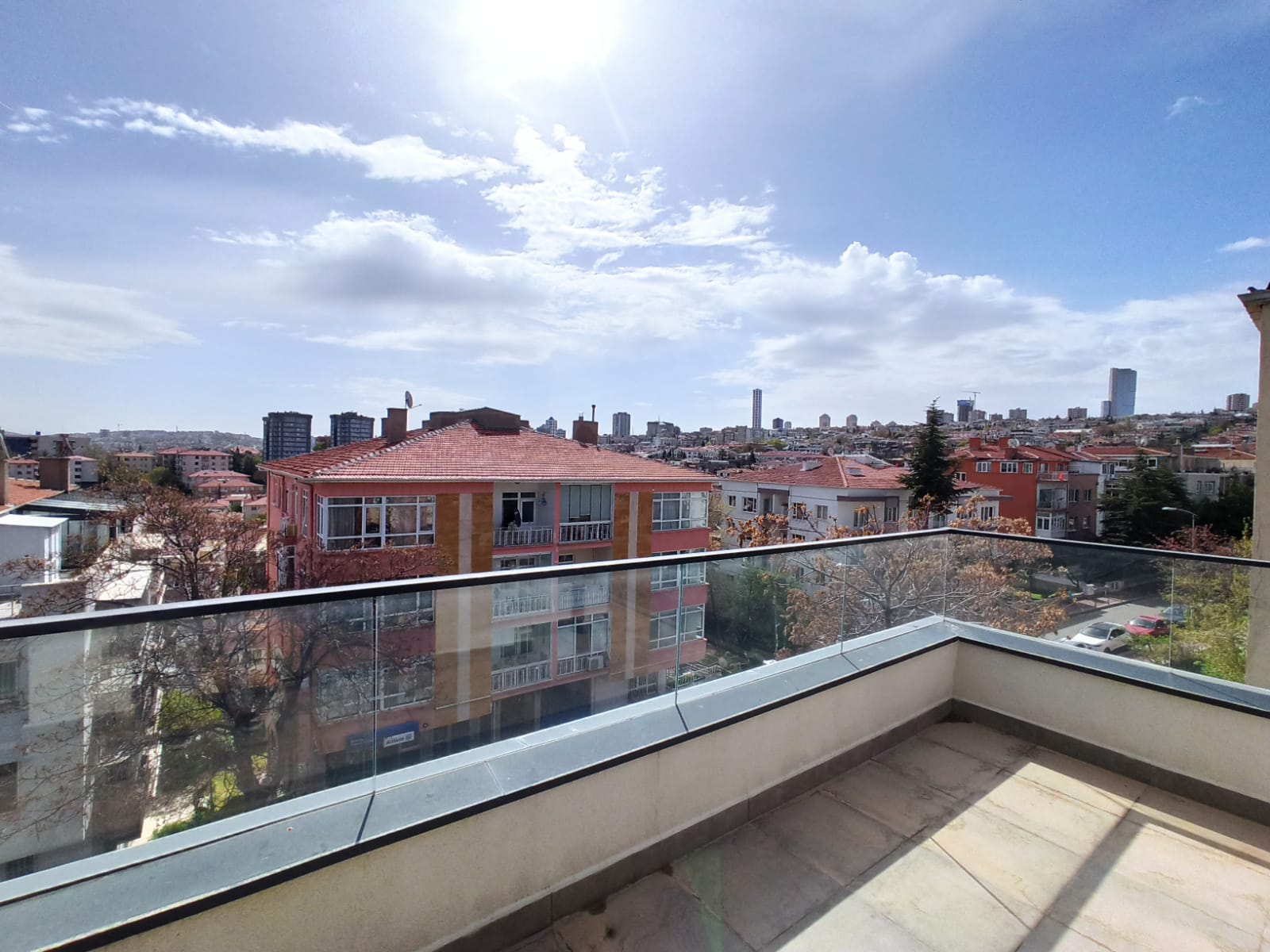 2+1 NEW UNFURNISHED DOUBLEX FLAT WITH TERRACE IN KENNEDY ST.