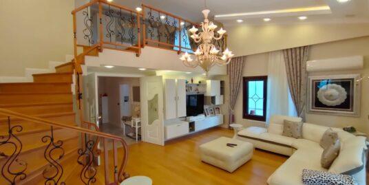 FURNISHED DOUBLEX FLAT IN GAZİOSMANPAŞA , 3 BEDROOMS 2 LIVINGROOMS + TERRACE